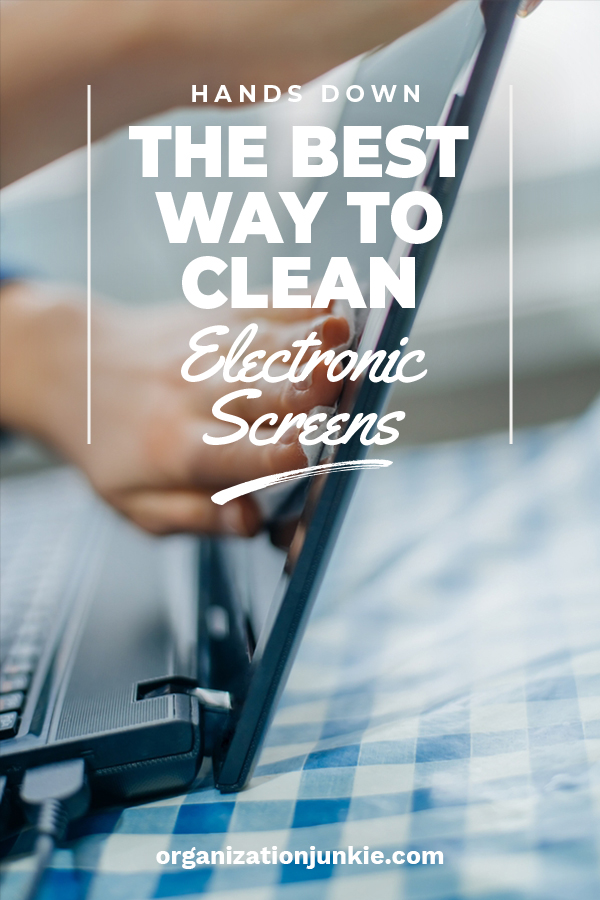 Clean Electronic Screens | clean | tips and tricks | electronics | how to clean screens | how to | cleaning tips