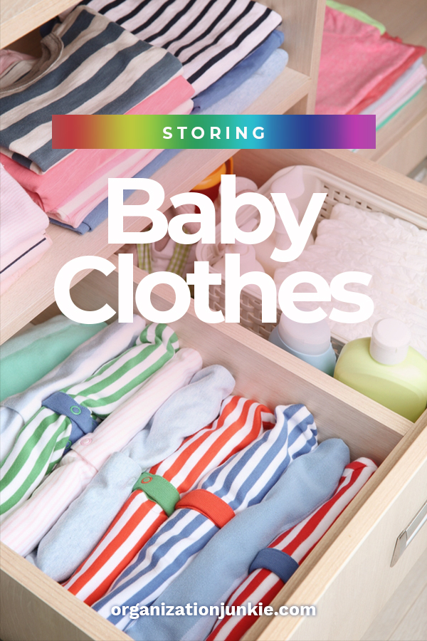 Babies grow so fast. They only wear clothes for a short time before they are too big for them. So, what do you do with all those clothes? Don't worry, we've got you covered with a tips for storing old baby clothes. Keep the clothes clean and protected and ready for when the next baby arrives. #howtostorebabyclothes #storeclothes