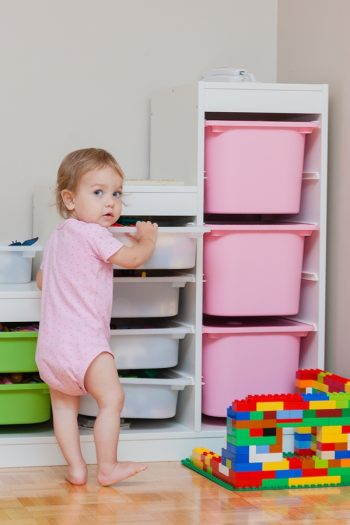 There is nothing worse than having your kids room be messy. Check out these simple small bedroom storage solutions for kids.