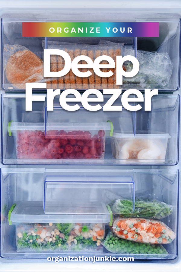 "It sounds funny, but we always joke about being able to hide a dead body in our deep freeze. We joke about because it is big enough, but it also is often a mess and looks like we just throw things in there to hide ""evidence"". We've learned how to organize the freezer and now it looks like Marie Kondo stopped by to lend a hand. #organizationtips #organizeadeepfreezer #organizationtipsforafreezer"
