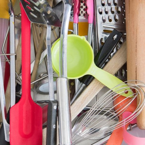 Declutter Drawers