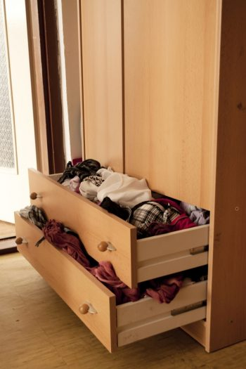 one of the best home organization tricks to master is how to quickly declutter drawers. See how much smoother your mornings go when you declutter your dresser drawers.