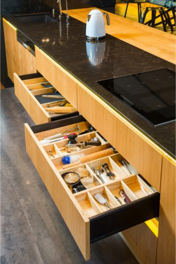 one of the best home organization tricks to master is how to quickly declutter drawers. You'll be amazed at how easy it is to find things when you declutter your junk drawer.