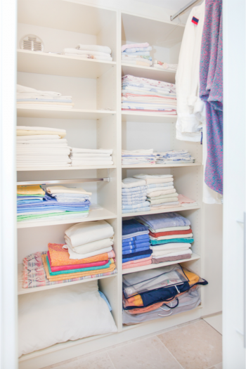 Are your closets in need of an organization overhaul? It's a great time for that! Check out these ridiculously brilliant closet organizing tips. You will be able to quickly find things you need in your linen closet.