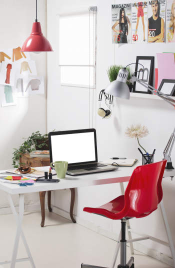 You may be wondering how to create a hobby space in your home? It can be tricky! I'll give you some organization hacks so your hobby space doesn't get taken over by your computer or books!