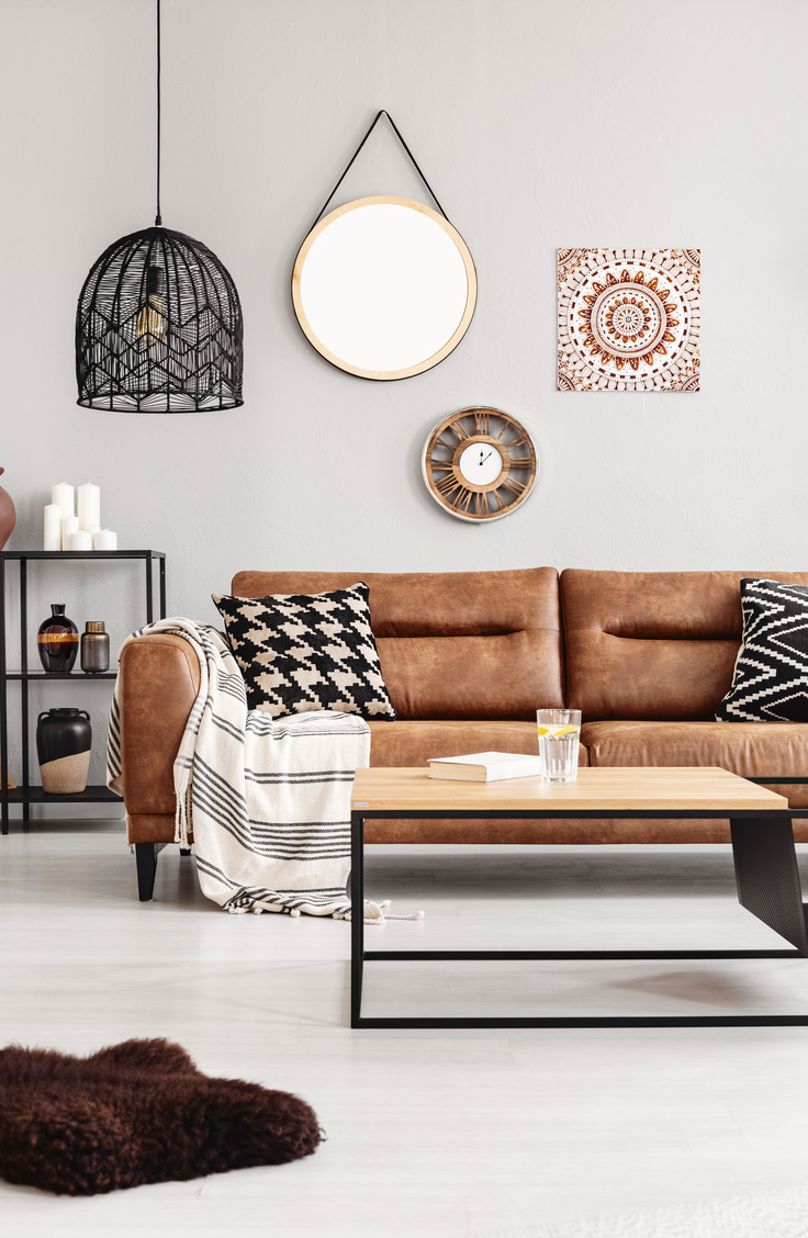 If you own a leather couch, this is for you! Learn how to clean a leather couch like a pro!