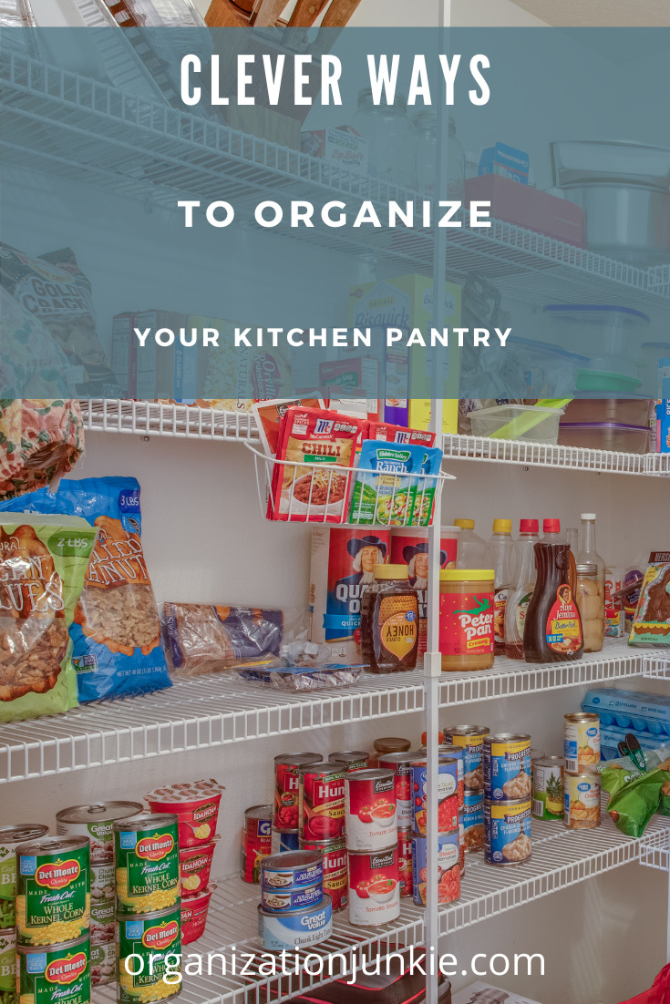 Organizationjunkie.com leaves no mess unturned. Find ways to sort through any clutter in your home. Learn how to sort out a messy pantry with these easy ideas.