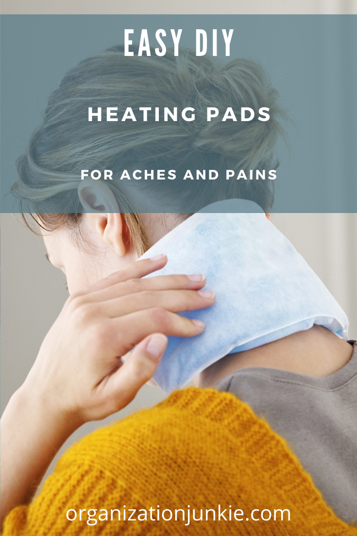 Organizationjunkie.org is here to make your life easier! Finally clear out clutter and junk that are weighing you down. After a long day, soothe your muscles with these homemade heating pads that anyone can make!