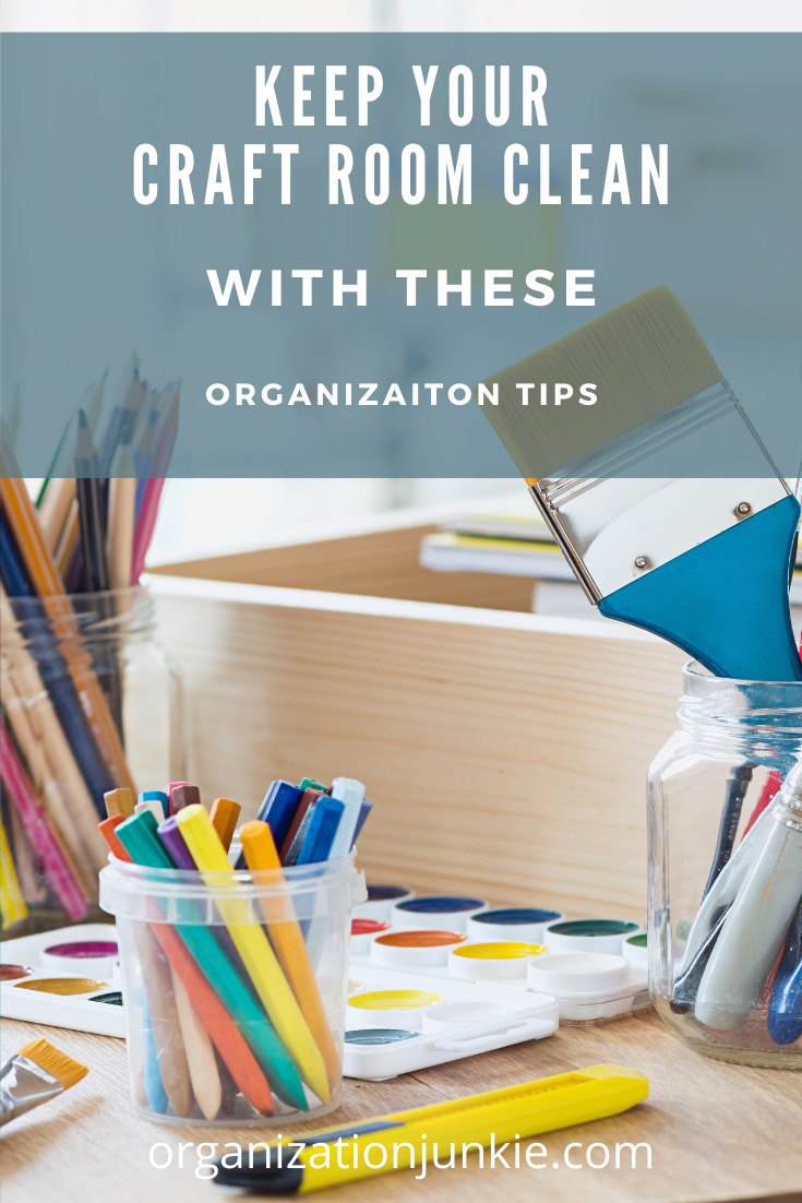 Organizationjunkie.com is the best place to go when you're feeling weighed down by messes and clutter in your life. It's not hard to get overwhelmed by junk in a craft room. Find out the best ways you can get your organized now!