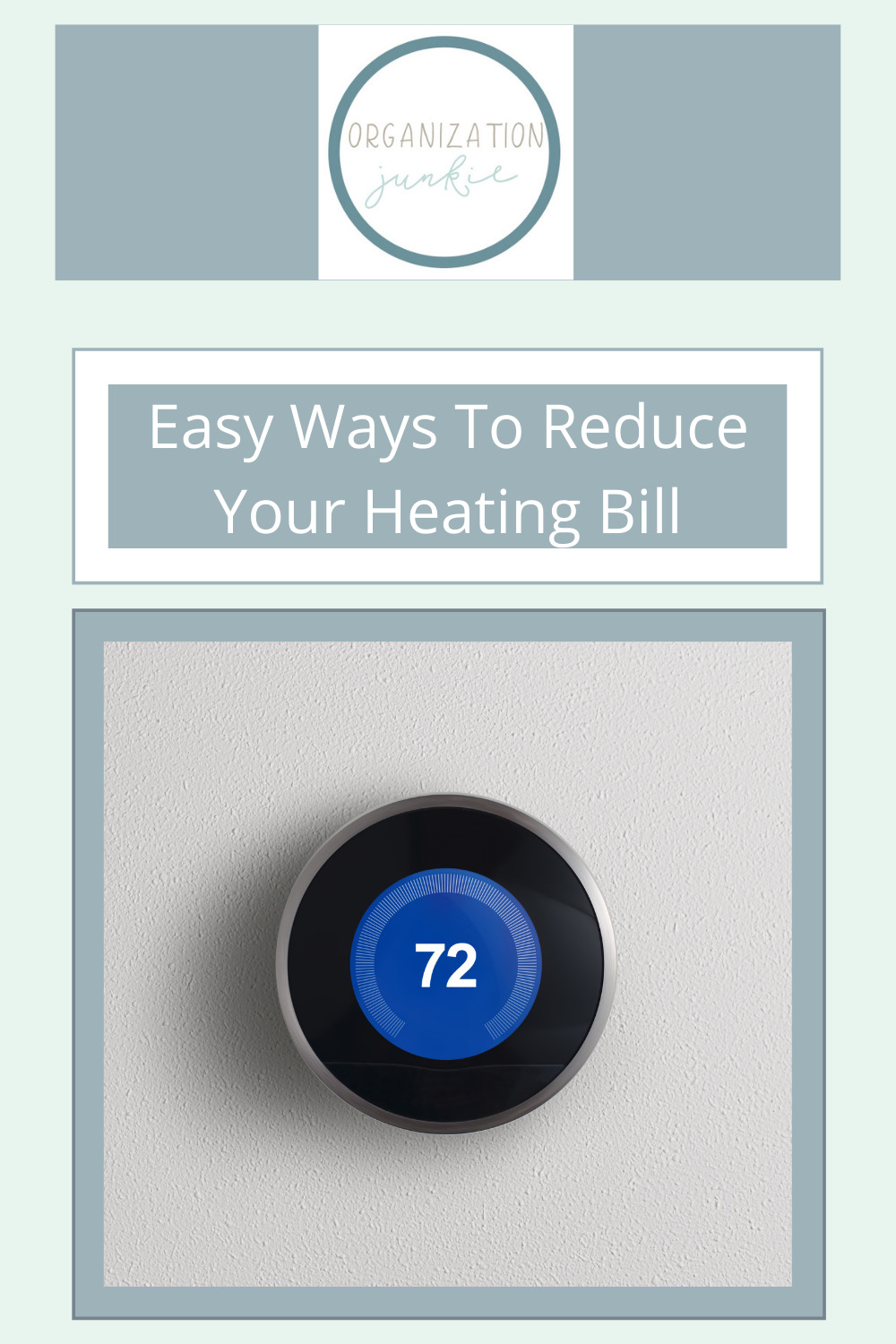 Organizationjunkie.com will make life around the house less stressful with loads of organization and home living tips. This winter, stop wasting so much money on heating. Find out how you can cut your costs in half now!
