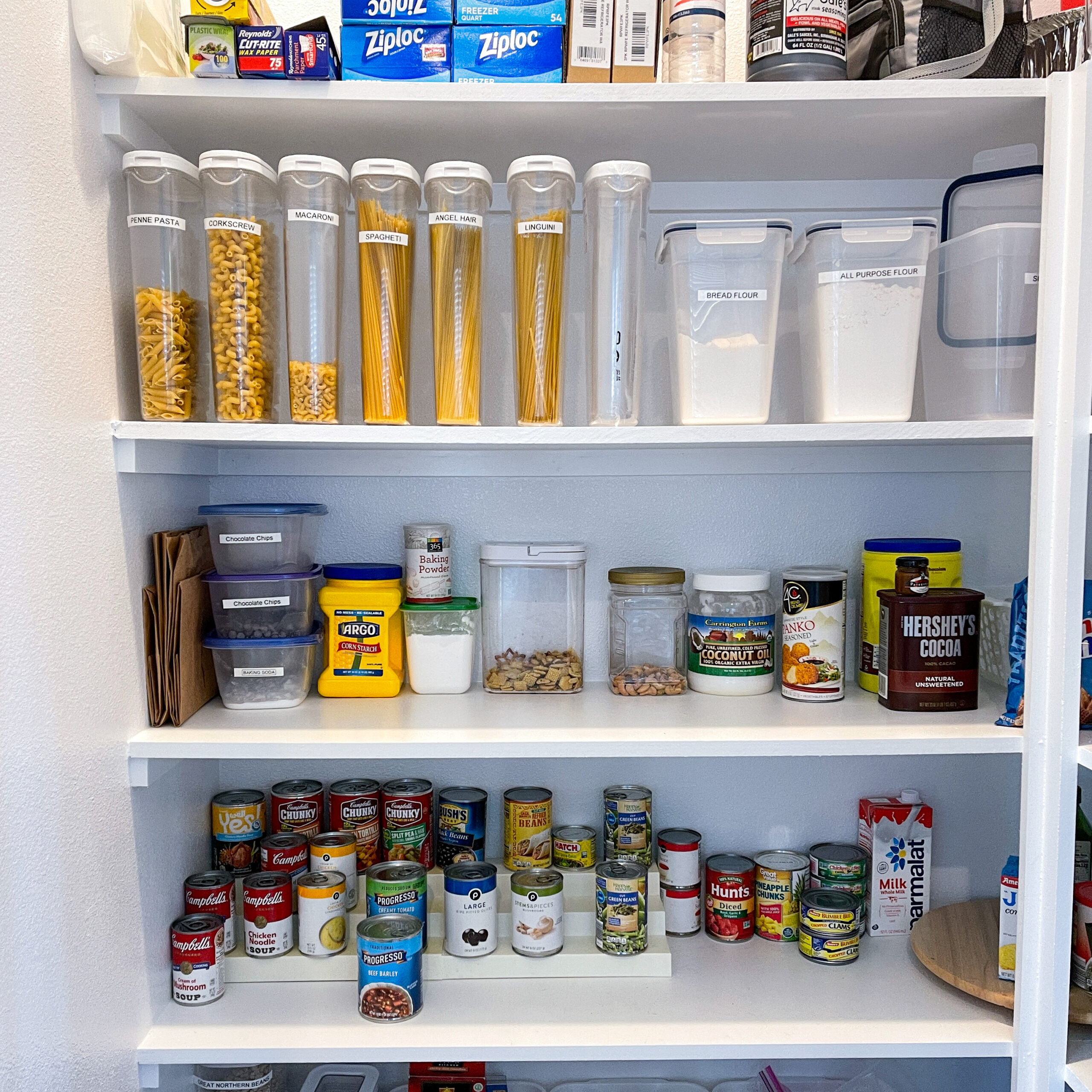Kitchen Pantry Organization Ideas - Clearing Up