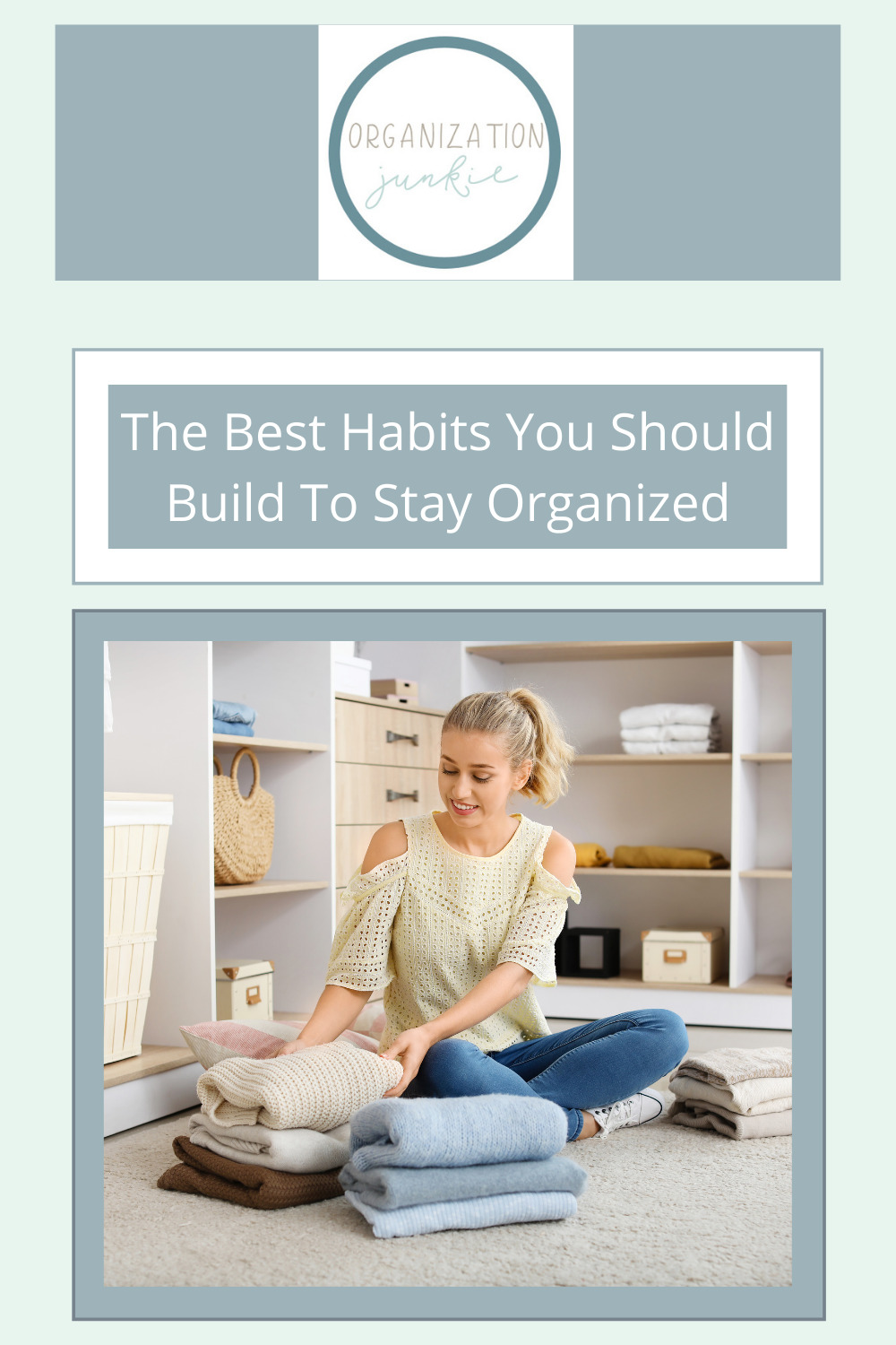 Organizationjunkie.com is stacked with creative ideas for keeping a clean and organized space. Find out how you can wipe out clutter in an instant. These clever ideas should be integrated into your daily routine for a mess free life!