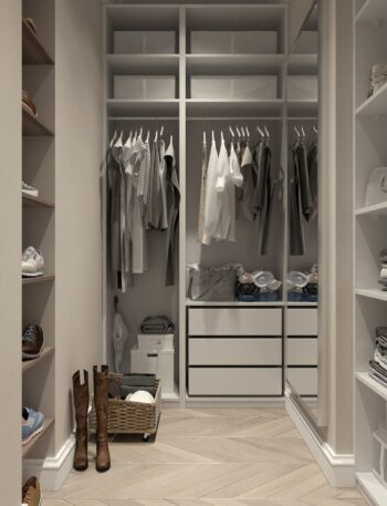 Use the Swedish death cleaning procedure to create extra space in your closet