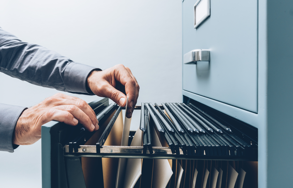 Storing Documents in a Filing Cabinet - Storage mistakes